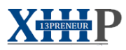 13preneur Corporate logo