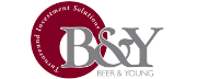 Beer and Young logo